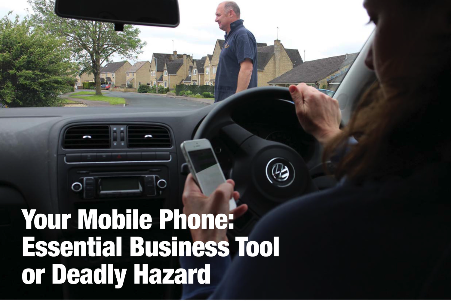 Your mobile phone: essential business tool or deadly hazard?