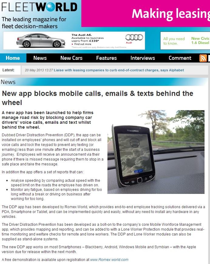new app blocks calls
