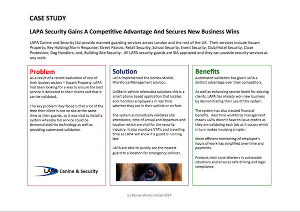 LAPA Security Case Study