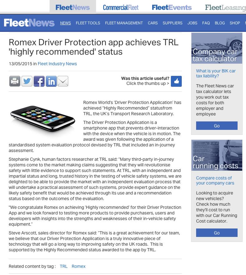 fleet news
